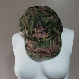Ducks Unlimited Mossy Oak Ladies Hat NWT